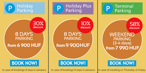 book online and park with discount directly at the airport
